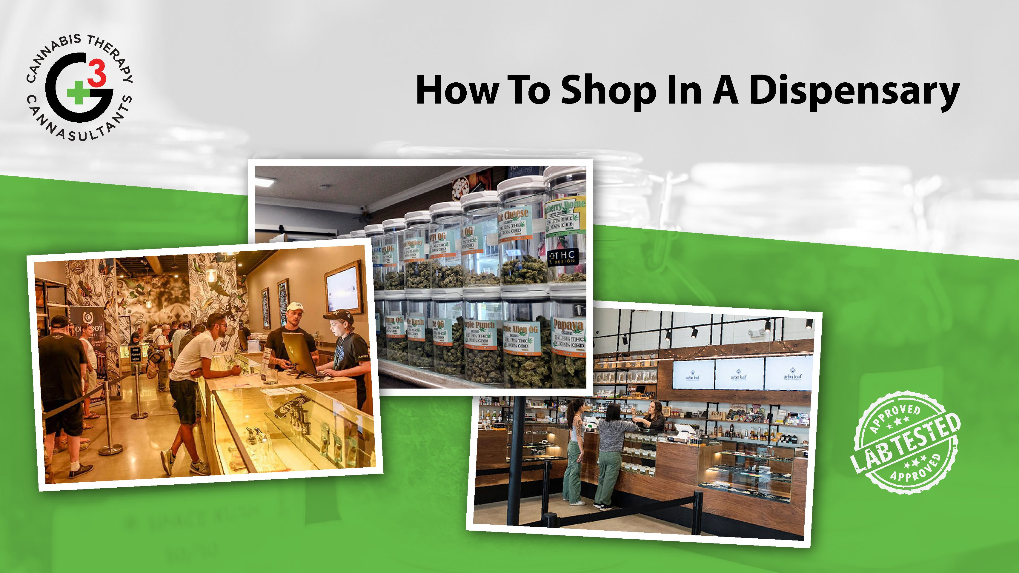 How To Shop In a Dispensary