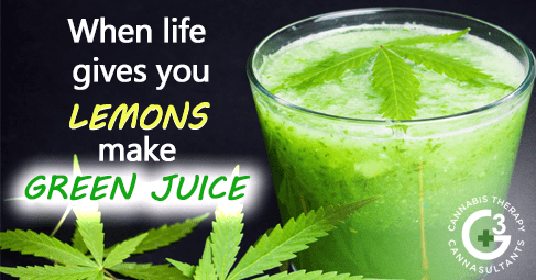 When Life Gives You Lemons, Make Green Juice!