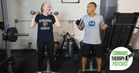 Earl and Jen working out high