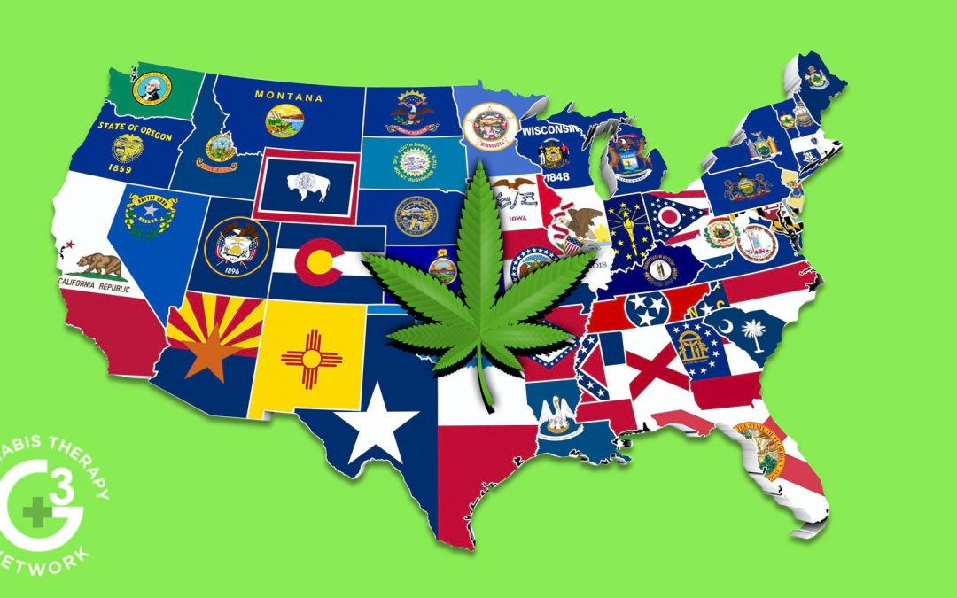 "Where in the US is Cannabis ""Legal-ish"""