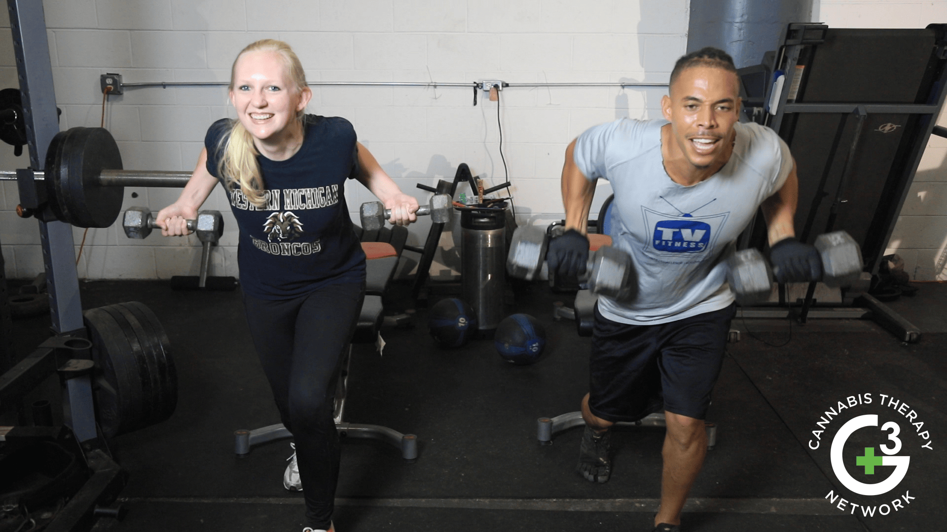 Earl and Jen Working Out High on Cannabis