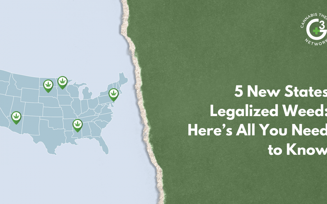5 New States Legalized Weed: Here's All You Need to Know