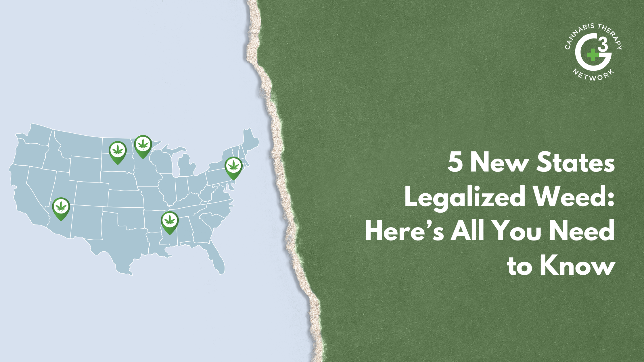 What you need to know about the 5 new states that legalized recreational and medical marijuana use