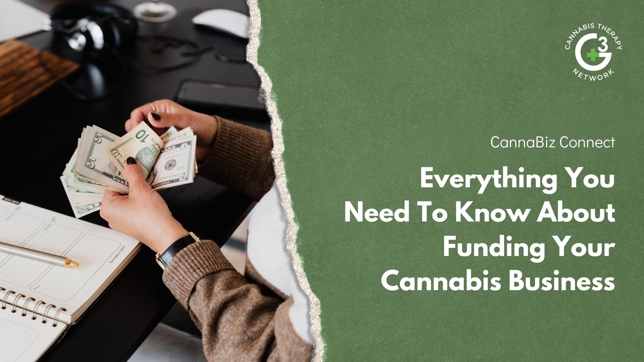 Cannabiz Funding - How to get financing for a marijuana business
