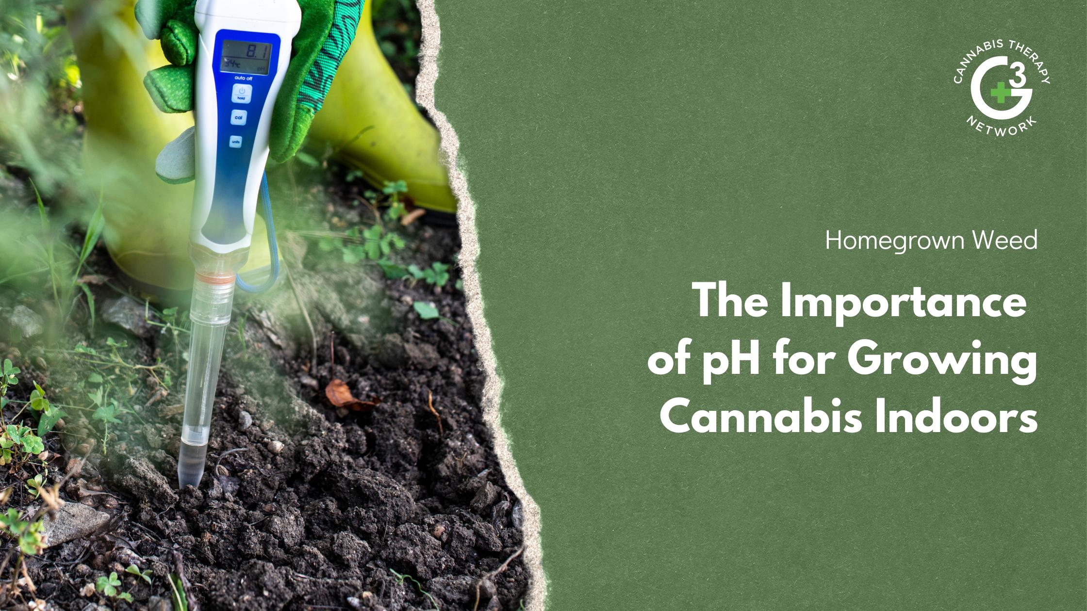 Best pH in growing cannabis indoors
