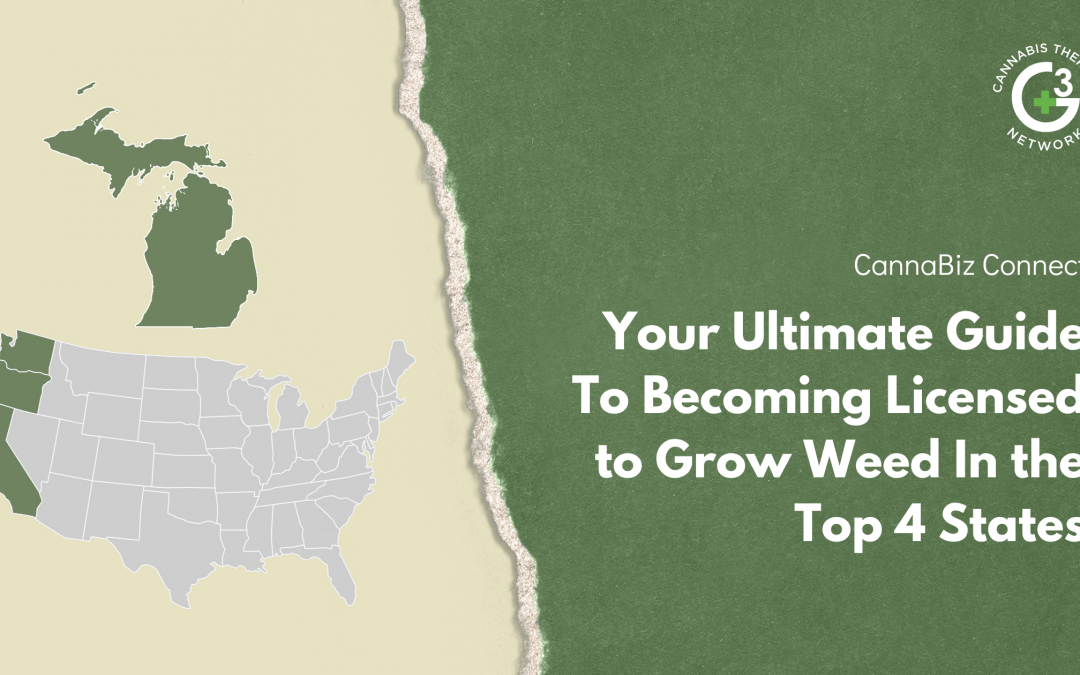 Your Ultimate Guide To Becoming Licensed to Grow Weed In the Top 4 States
