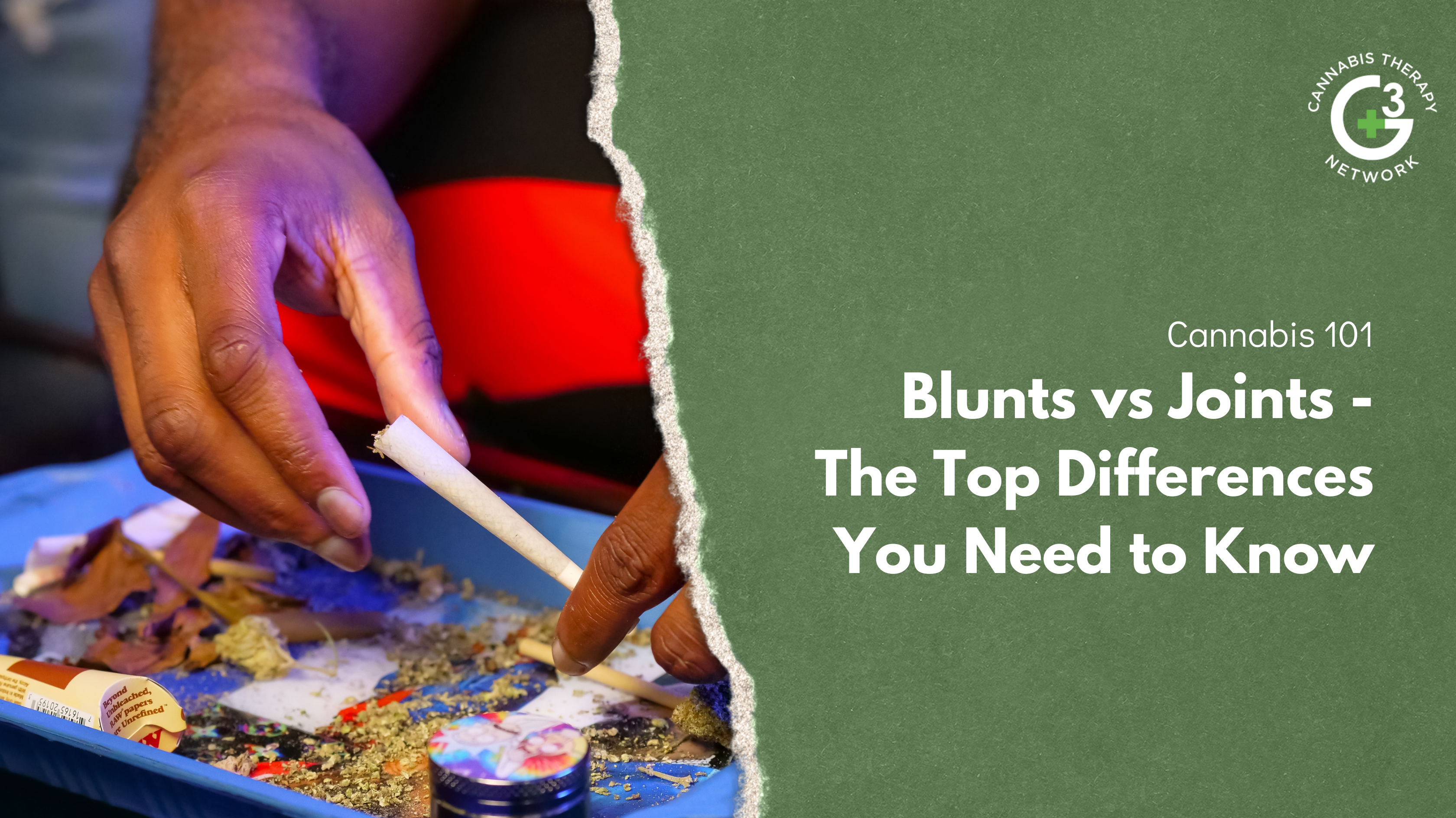 Blunts vs Joints - The Top Differences You Need to Know
